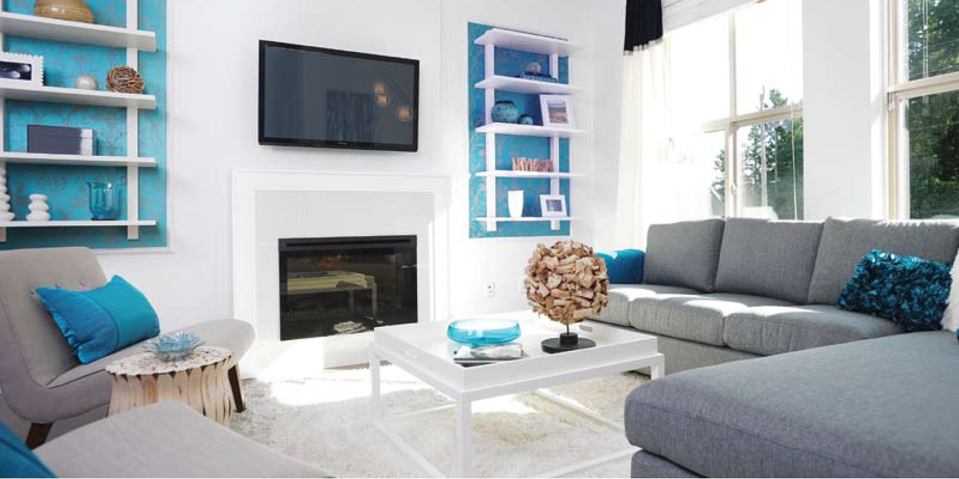 Heights Showhome Living Room Featured In Bc New Home Guide Magazine